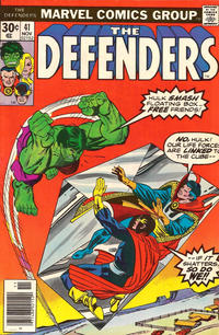 Cover Thumbnail for The Defenders (Marvel, 1972 series) #41 [Regular Edition]