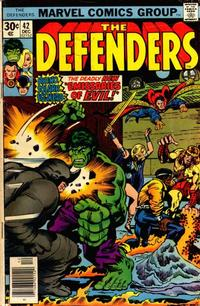 Cover Thumbnail for The Defenders (Marvel, 1972 series) #42 [Regular Edition]