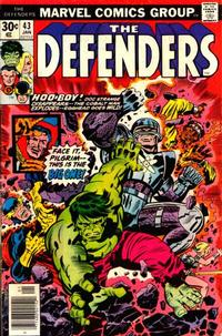 Cover Thumbnail for The Defenders (Marvel, 1972 series) #43 [Regular Edition]