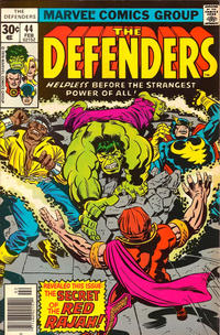 Cover Thumbnail for The Defenders (Marvel, 1972 series) #44 [Regular Edition]