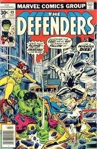 Cover Thumbnail for The Defenders (Marvel, 1972 series) #49 [30¢]