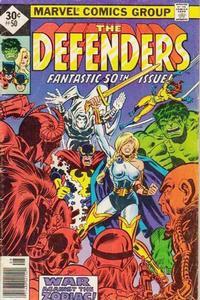 Cover Thumbnail for The Defenders (Marvel, 1972 series) #50 [Whitman]