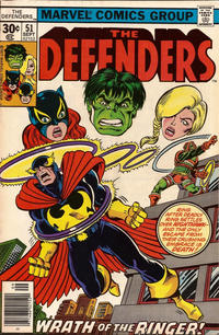Cover Thumbnail for The Defenders (Marvel, 1972 series) #51 [30¢]