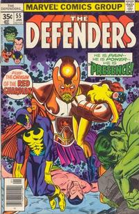 Cover Thumbnail for The Defenders (Marvel, 1972 series) #55