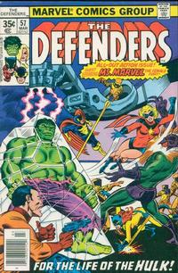 Cover Thumbnail for The Defenders (Marvel, 1972 series) #57