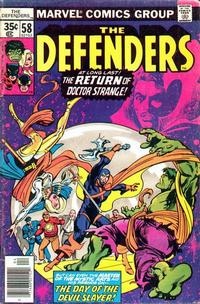 Cover Thumbnail for The Defenders (Marvel, 1972 series) #58