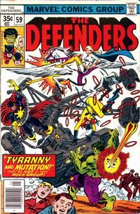 Cover Thumbnail for The Defenders (Marvel, 1972 series) #59