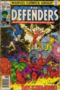 Cover Thumbnail for The Defenders (Marvel, 1972 series) #60