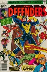 Cover Thumbnail for The Defenders (Marvel, 1972 series) #62