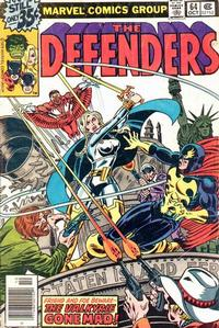 Cover Thumbnail for The Defenders (Marvel, 1972 series) #64 [Regular Edition]