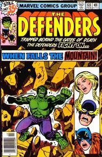 Cover Thumbnail for The Defenders (Marvel, 1972 series) #68 [Regular Edition]