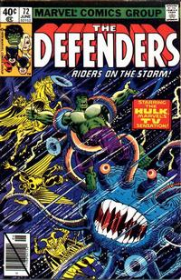 Cover Thumbnail for The Defenders (Marvel, 1972 series) #72 [Direct]