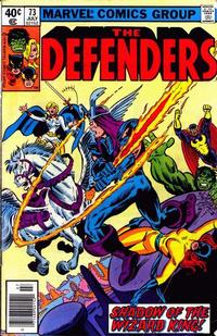 Cover Thumbnail for The Defenders (Marvel, 1972 series) #73 [Newsstand]