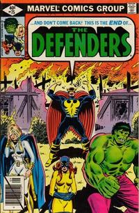 Cover Thumbnail for The Defenders (Marvel, 1972 series) #75 [Direct]