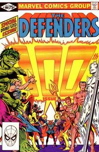 Cover Thumbnail for The Defenders (Marvel, 1972 series) #100 [Direct]