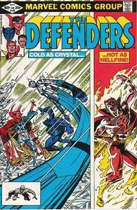 Cover Thumbnail for The Defenders (Marvel, 1972 series) #105 [Direct]