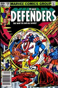 Cover Thumbnail for The Defenders (Marvel, 1972 series) #106 [Newsstand]