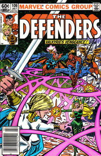 Cover Thumbnail for The Defenders (Marvel, 1972 series) #109 [Newsstand]