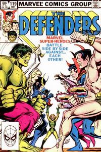 Cover Thumbnail for The Defenders (Marvel, 1972 series) #119 [Direct]