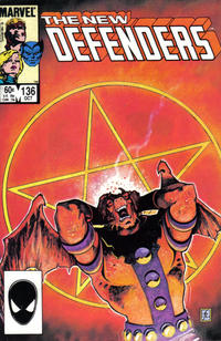 Cover Thumbnail for The Defenders (Marvel, 1972 series) #136 [Direct]