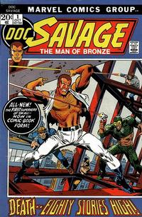 Cover Thumbnail for Doc Savage (Marvel, 1972 series) #1