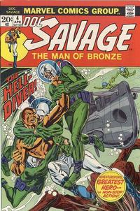 Cover Thumbnail for Doc Savage (Marvel, 1972 series) #4
