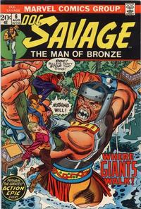 Cover Thumbnail for Doc Savage (Marvel, 1972 series) #6