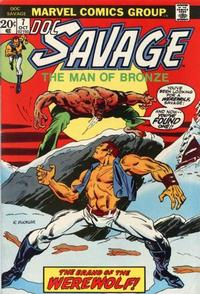 Cover Thumbnail for Doc Savage (Marvel, 1972 series) #7