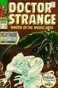 Cover Thumbnail for Doctor Strange (Marvel, 1968 series) #170