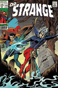 Cover for Doctor Strange (Marvel, 1968 series) #176