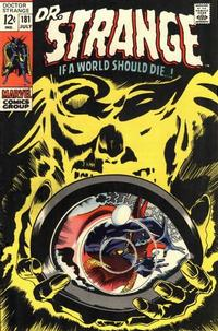 Cover for Doctor Strange (Marvel, 1968 series) #181
