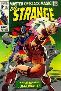 Cover Thumbnail for Doctor Strange (Marvel, 1968 series) #182