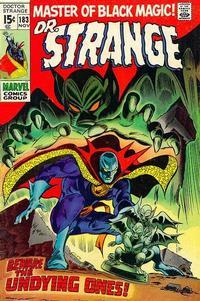 Cover Thumbnail for Doctor Strange (Marvel, 1968 series) #183