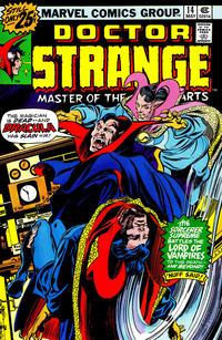 Cover Thumbnail for Doctor Strange (Marvel, 1974 series) #14 [25¢ Cover Price]