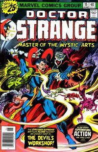 Cover Thumbnail for Doctor Strange (Marvel, 1974 series) #15 [25¢ Cover Price]