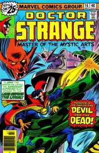 Cover Thumbnail for Doctor Strange (Marvel, 1974 series) #16 [25¢]