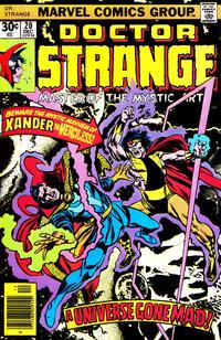 Cover Thumbnail for Doctor Strange (Marvel, 1974 series) #20 [Regular Edition]