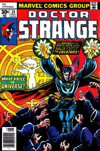 Cover Thumbnail for Doctor Strange (Marvel, 1974 series) #24 [30¢ Cover Price]