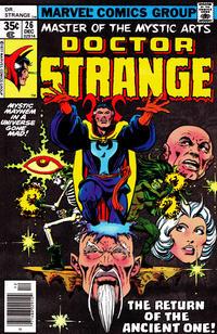 Cover Thumbnail for Doctor Strange (Marvel, 1974 series) #26 [Regular Edition]