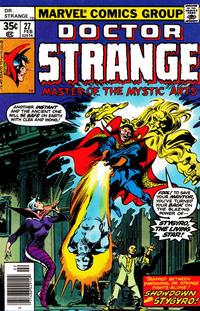 Cover Thumbnail for Doctor Strange (Marvel, 1974 series) #27 [Regular Edition]