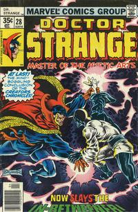 Cover Thumbnail for Doctor Strange (Marvel, 1974 series) #28 [Regular Edition]