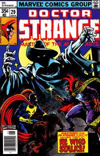 Cover Thumbnail for Doctor Strange (Marvel, 1974 series) #29 [Regular Edition]
