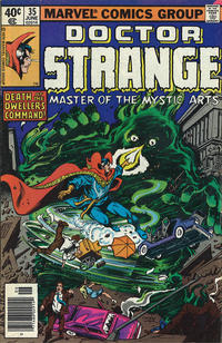 Cover Thumbnail for Doctor Strange (Marvel, 1974 series) #35 [Newsstand Edition]