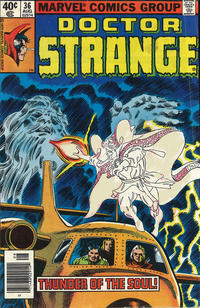 Cover Thumbnail for Doctor Strange (Marvel, 1974 series) #36 [Newsstand Edition]