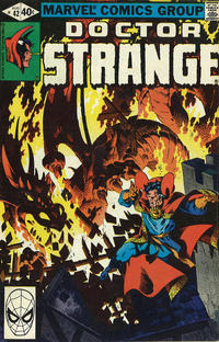 Cover Thumbnail for Doctor Strange (Marvel, 1974 series) #42 [Direct Edition]