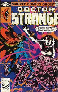 Cover for Doctor Strange (Marvel, 1974 series) #44 [Direct Edition]