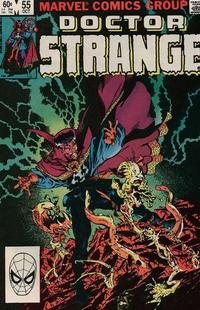 Cover Thumbnail for Doctor Strange (Marvel, 1974 series) #55 [Direct Edition]