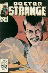 Cover Thumbnail for Doctor Strange (Marvel, 1974 series) #63 [Direct Edition]