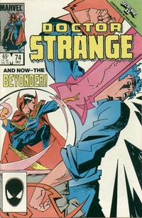 Cover Thumbnail for Doctor Strange (Marvel, 1974 series) #74 [Direct Edition]