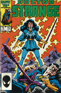 Cover Thumbnail for Doctor Strange (Marvel, 1974 series) #79 [Direct Edition]